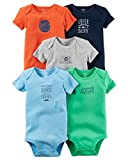Carter's Baby Boys 5-Pack Mr. Sunshine Bodysuits 18 Months