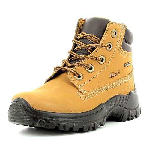 24b064625065f Grisport Young Hiker Cómodo Botas de senderismo para niños con membrana  piel impermeable