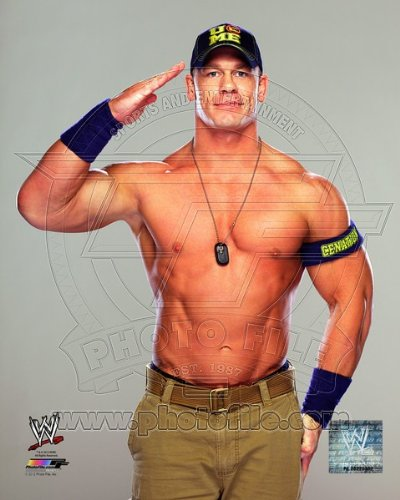 John Cena 2013 WWE Posed Photo 8x10 #1 (Sports Photographs)