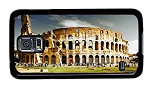 Hipster Samsung Galaxy S5 Case on sale Colosseum PC Black for Samsung S5 by lolosakes