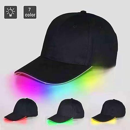 MY-COSE Tapas De Luz LED hasta Béisbol, Sombreros Ajustables ...