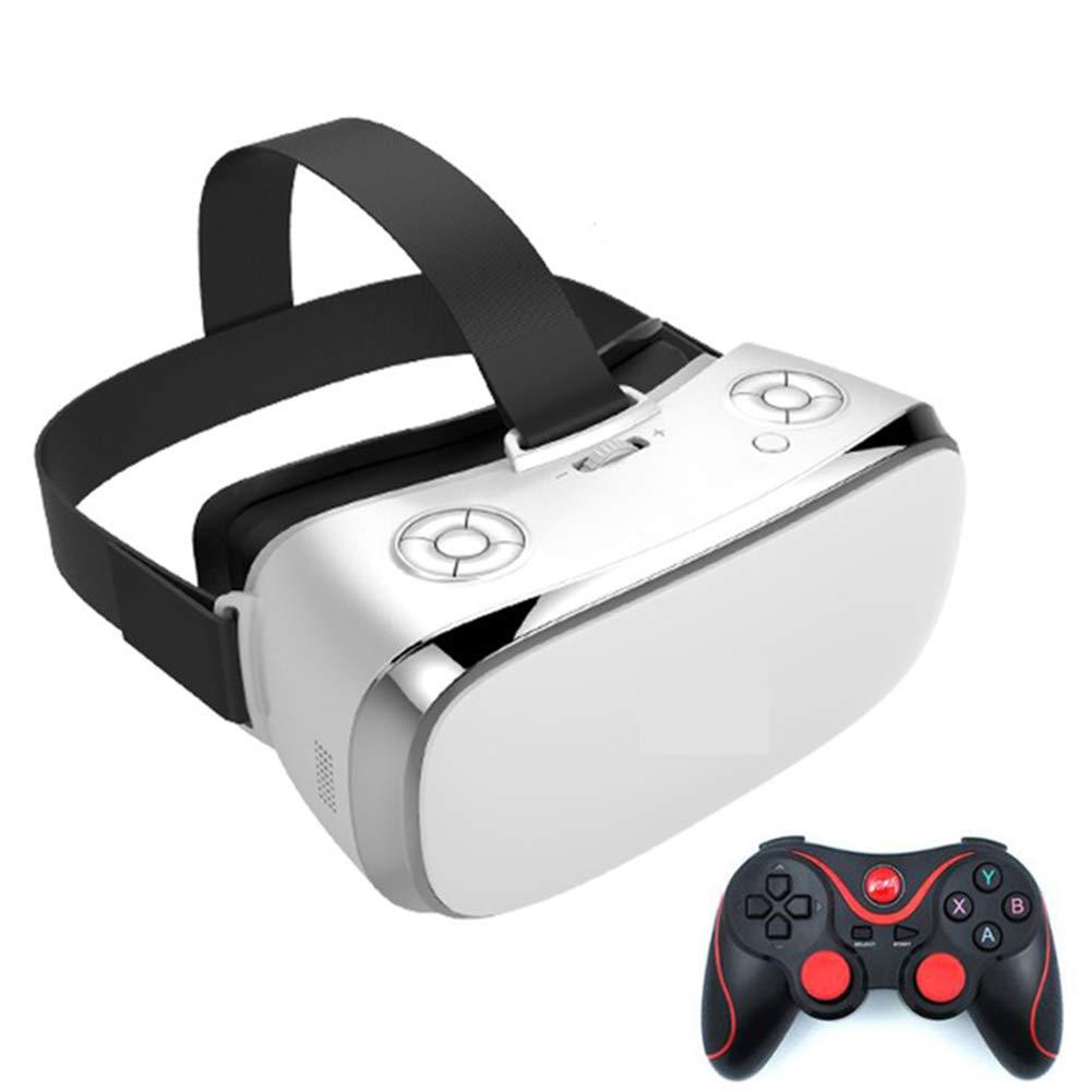 HM2 VR Virtual Reality Glasses IMAX 3D Glasses WiFi VR All in One Glasses Quad Core 3G Ram 16G ROM VR Glasses 5.5 Inch 2K Display,White