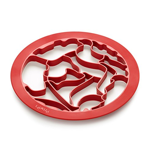 Lekue Cookie Cutter Puzzle Animals product image