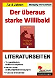 Willi Fährmann 'Der überaus starke Willibald', Literaturseiten