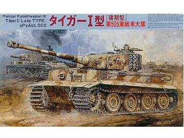 1/76 scale Panzer Kampfwagen IV Tiger I ( Late Type ) SpzAbt. 505