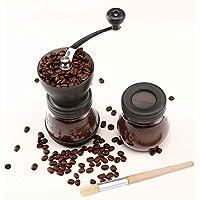 Cooko Molinillo de café manual, Mini Molino