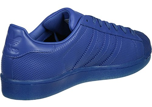Adidas Sneaker SUPERSTAR ADICOLOR S80327 Blau Blau, Schuhgröße:44