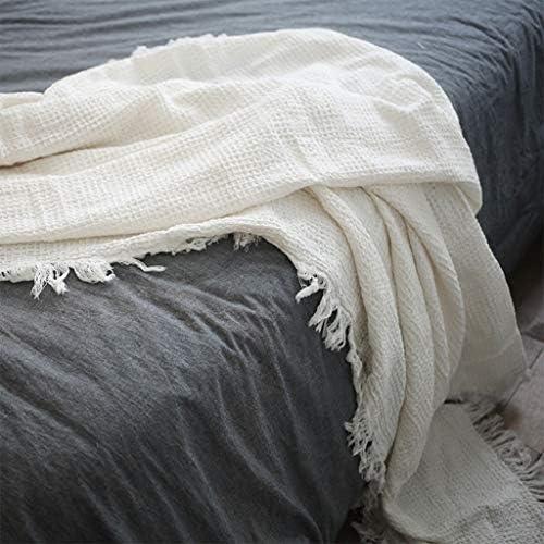 Couvertures Lit queue couverture coton double gaze serviette couverture été unique mince chambre lit simple couche couverture couverture coton couverture