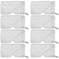 KEEPOW 8 Pack Washable Steam Mop Pads Replacement for Shark Steam Pocket S3501 S3601D S3550 S3901 S4601 S4701 S4701D SE450