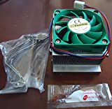 Pentium 4 CPU Cooler - Heatsink + Fan + Thermal Paste Combo - Socket 478 - Great for Normal Users and Overclockers!!