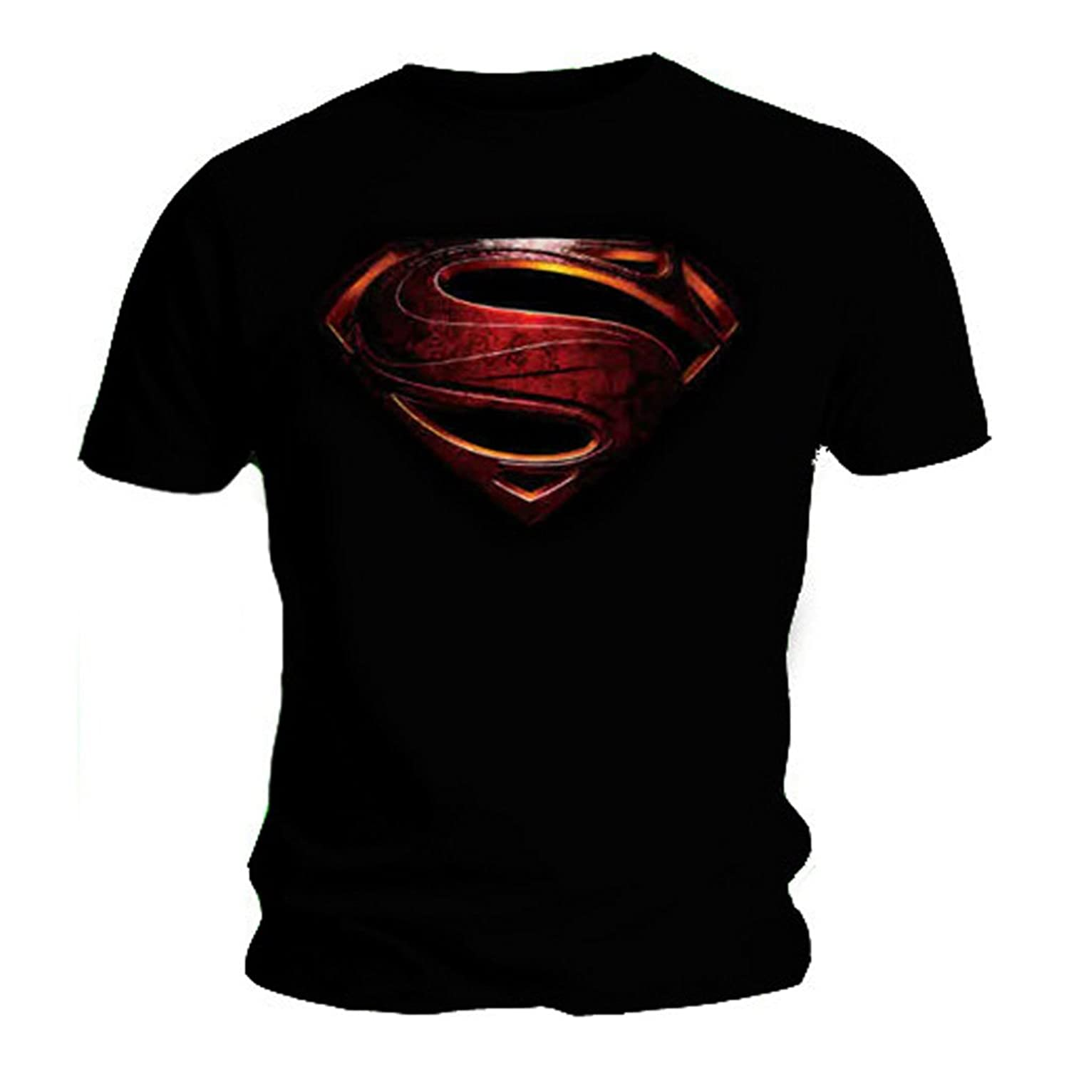Black flag t shirt uk - Official T Shirt Superman Logo Man Of Steel Movie All Sizes