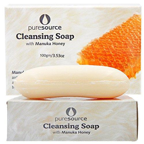 Cleansing Soap with Manuka Honey and Manuka Tree Leaf - Set of (Soap Set Of Two)