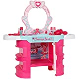 COLORTREE Pretend Play Kids Vanity Table Beauty Play Set