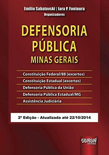 Defensoria Pública. Minas Gerais
