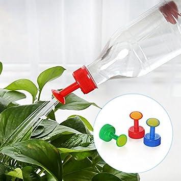 Jardinería Plantas Flores Regadera Engrasador plástico portátil de la caldera de botella de la caldera de