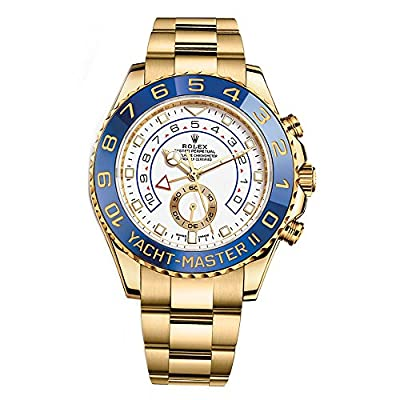 Rolex Yacht-Master Ii Yellow Gold Watch 116688 Box/Papers Unworn 2017