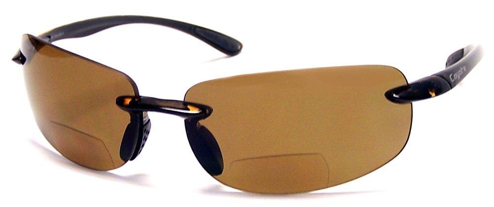 Readers.com The Coyote Polarized Bifocal - BP-5 +1.50 Tortoise Frame Reading Glasses