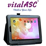 vitalASC 8 Dual Core 1.5Ghz ,1024 X 768 TFT ,Dual Camera, Multi-touch Screen and Android 4.1 Jelly Bean Tablet PC, Leather Case / Stand