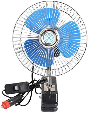 12 V Mini Ventilador de Coche Eléctrico Enfriamiento Bajo Ruido ...