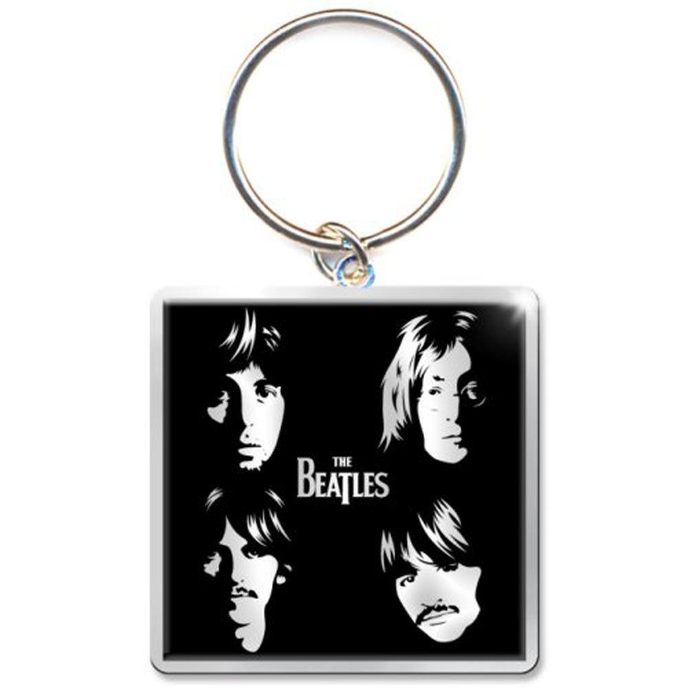 The Beatles - Llavero caras ilustradas negro: Amazon.es ...