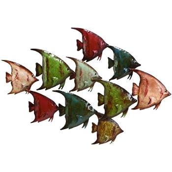 Deco 79 63533 Metal Fish Wall Decor Part 73