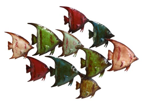 large metal fish wall art