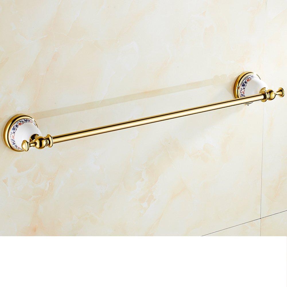 best European solid brass Towel rack/Towel hanger/Towel Bar/Rose ...