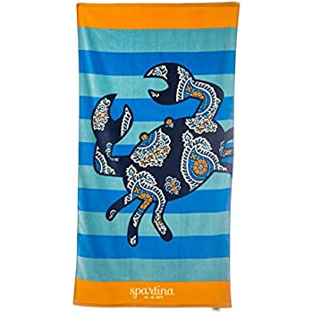 Amazon Com Spartina 449 Beach Towel Boheme Home Amp Kitchen