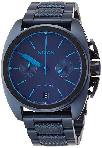 [ニクソン]NIXON ANTHEM CHRONO: ALL DARK BLUE NA9302224-00 メンズ