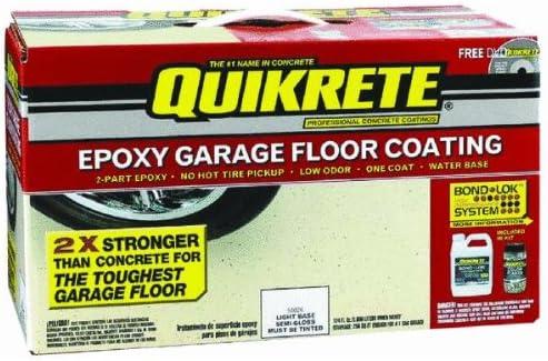 Amazon Com Quikrete Epoxy Garage Floor Coating Home Improvement