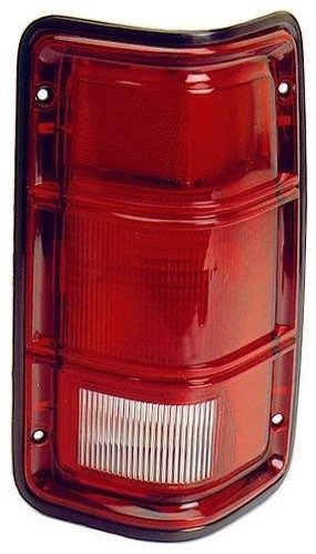 Go-Parts - OE Replacement for 1988-1993 Dodge D250 Rear Tail Light Lamp Assembly/Lens/Cover - Left (Driver) Side 55054789 CH2800114 Replacement For Dodge D250