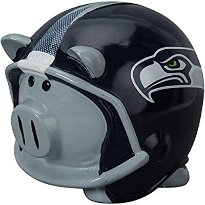 NFL Seattle Seahawks Resin Large Helmet Piggy Bank