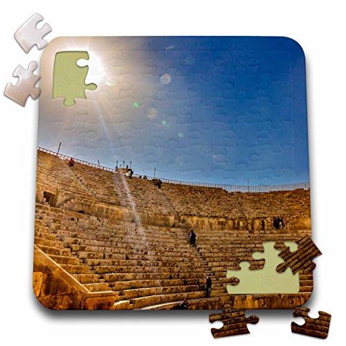 ins - Ancient Roman Amphitheater, South Theater, Jerash, Jordan. - 10x10 Inch Puzzle (pzl_276931_2) ()