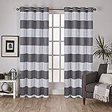 Amazon.com: Striped - Draperies & Curtains / Window Treatments ...