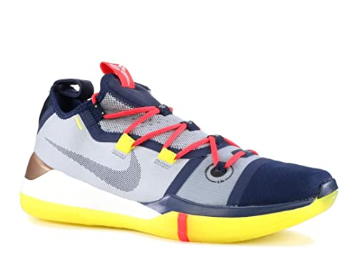 size 40 68f14 b60e2 Nike Kobe Ad, Scarpe da Basket Uomo, Multicolore (Sail/Multi/Color 100),  47.5 EU: Amazon.it: Scarpe e borse