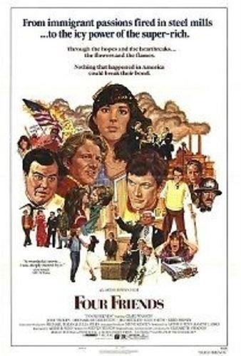 (FOUR FRIENDS 27x40 Original Movie Poster One Sheet 1981 Folded )
