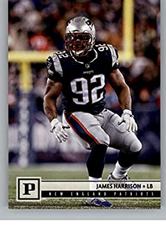 f2a618dd5f3 2018 Panini NFL Football  191 James Harrison New England Patriots Official  Trading Card