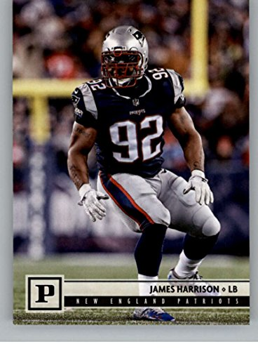 2018 Panini NFL Football #191 James Harrison New England Patriots Official Trading Card