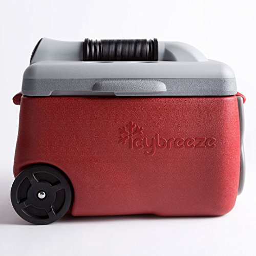 IcyBreeze Portable Air Conditioner and Cooler, Molten Red by IcyBreeze