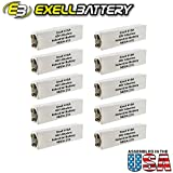 10pc Exell 415A Alkaline 45V Battery NEDA 213, 30F20, BLR102