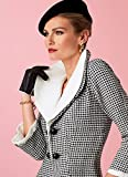 Vogue Patterns Misses' High-Collar Fit-and-Flare