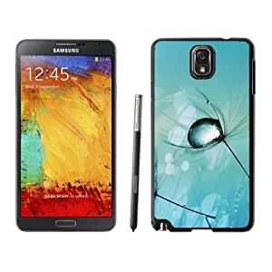 NEW Unique Custom Designed Iphone 5/5S Phone Case With Macro Drop On Plant_Black Phone Case