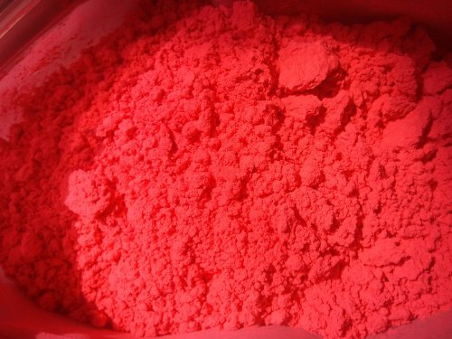 16 OZ FLUORSCENT RED ORANGE PIGMENT FOR SOAP COSMETIC by Dr Adorable
