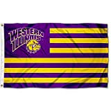 WIU Leathernecks Stars and Stripes Nation College Flag