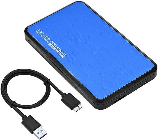 Woyisisi HDD Caja de Unidad de Disco Duro con Caja Externa para ...