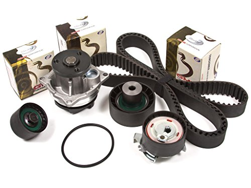 Evergreen TBK294WPT Fits 98-04/99 Ford Escort Contour Mercury Tracer 2.0 Zetec Timing Belt Kit Water Pump