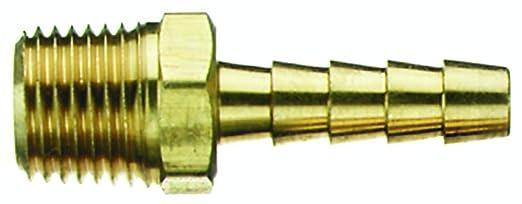 "Tru-Flate 21-423 1//4/"" ID Hose Splicer Barb Type Hose Fitting"