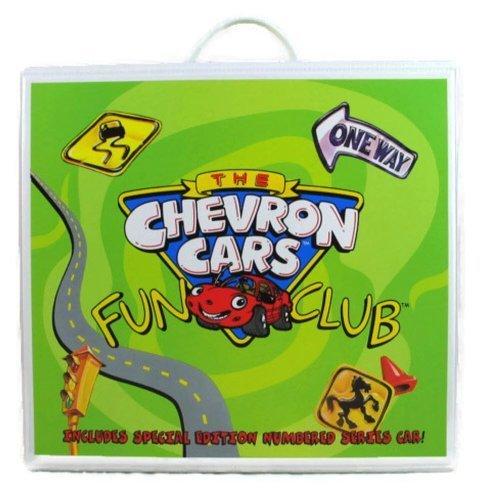 The Chevron Cars Fun Club Activity Kit ICON CAR Travel Case by Chevron