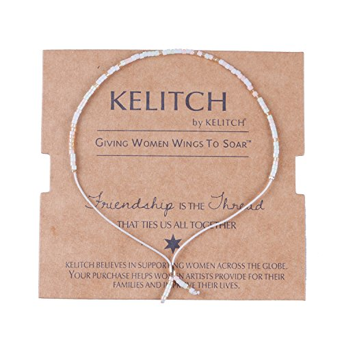 KELITCH Crystal Bracelets Handmade Bracelet
