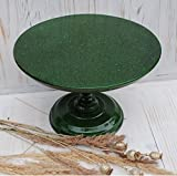 New design 12'' inches cake stand,green cake stand,Wedding Cake Stand,Modern Cake Stand,Cake Divider,strong cake stand,Wedding Cake Base,wooden pedestal